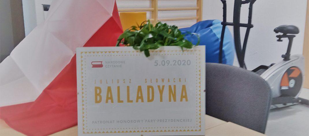 Narodowe Czytanie 2020        w Mirostowicach Górnych